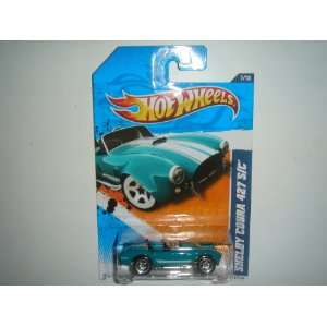 2011 Hot Wheels Muscle Mania Shelby Cobra 427 S/C Teal