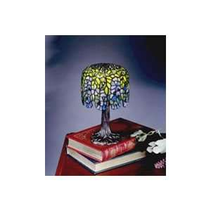 Dale Tiffany Lighting 101204 Museum Wisteria One Light Table Lamp in