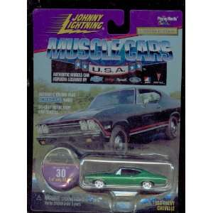 Johnny Lightning 1999 30 Muscle Cars Usa 1968 Chevy
