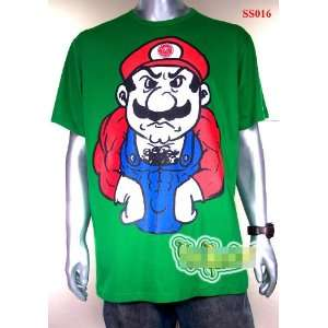 CLEARANCE SALE Mario Nintendo Video Game Funny Parody Street Japan T