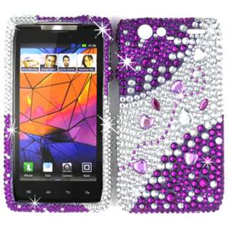 RHINESTONE BLING CRYSTAL HARD SKIN CASE COVER MOTOROLA DROID RAZR