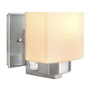 Hampton Bay 1 Light Brushed Nickel Wall Sconce 25088 718212250884