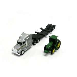 John Deere Construction Semi Truck with Tractor Toys