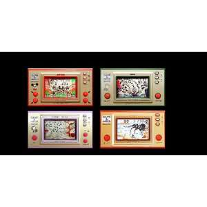4 Refrigerator (Fridge) Magnets Nintendo Game and Watch