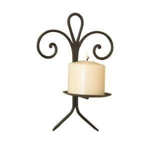 Luca Bella Home™ Le Fleur Wrought Iron Wall Sconce