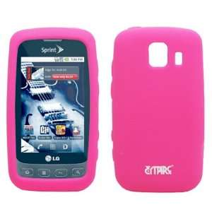 EMPIRE Hot Pink Silicone Skin Cover Case for Sprint LG