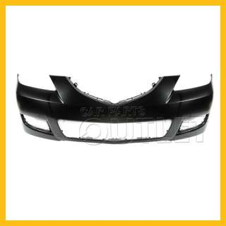 2007   2009 MAZDA Mazda3 OE REPLACEMENT FRONT BUMPER COVER