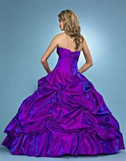 2012 New Fashion Purple Quinceanera Wedding Dress Ball Gowns Prom