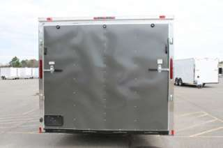 NEW 2012 8.5 X 38 ENCLOSED GOOSENECK CARGO TRAILER