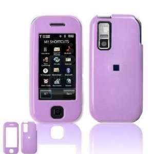 SOLID LIGHT PURPLE SNAP ON COVER HARD CASE PROTECTOR for