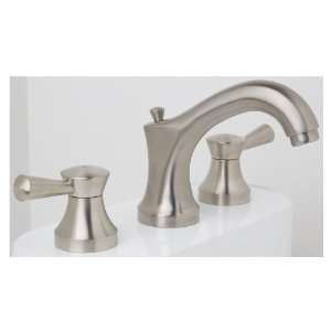 Symmons Callie Satin Nickel 2 Handle WaterSense Bathroom Faucet (Drain