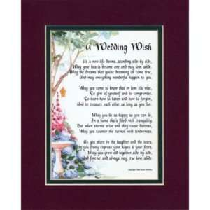WEDDING WISH   A WEDDING DAY GIFT HUSBAND AND WIFE