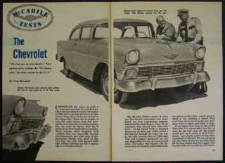 1956 Chevy V8 Bel Air Tom McCahill Vintage Road Test