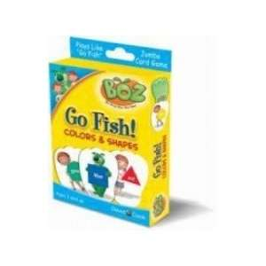 BOZs Jumbo Card Game Go Fish Colors & Shapes Toys & Games