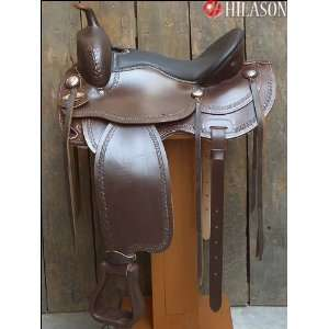 Flex Tree Western Trail Pleasure Saddle. Sports