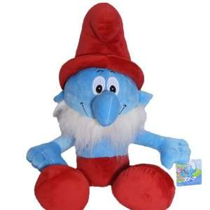 The Smurfs   16INCH Papa smurf soft Stuffed Plush Doll Toy