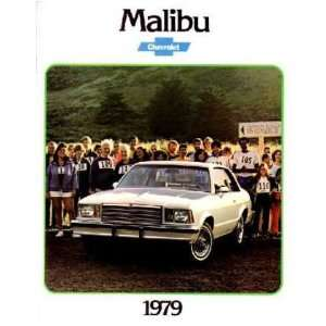 1979 CHEVROLET MALIBU Sales Brochure Literature Book