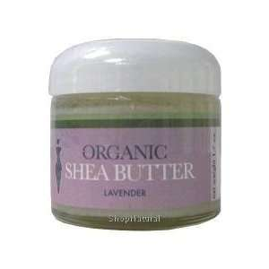 Shea Butter, Lavender, Organic, 1.7 oz. Beauty