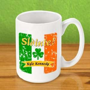 Keepsake Pride of the Irish Personalized Coffee Mug