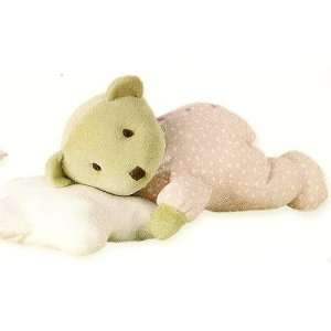 Tuc Tuc Pink Soft Teddy Bear/Pillow Stuffed Plush Baby Toy. Moons and