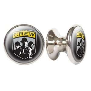 Columbus Crew MLS Stainless Steel Cabinet Knob / Drawer