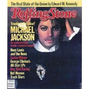 Rolling Stone March 15th 1984 Number 417 Michael Jackson