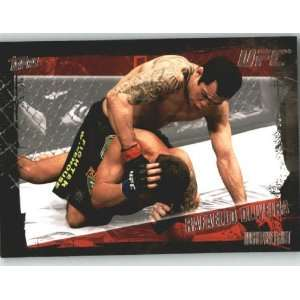 2010 Topps UFC Trading Card # 109 Rafaello Oliveira (Ultimate Fighting