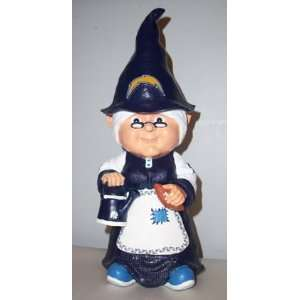 San Diego Chargers NFL Female Garden Gnome