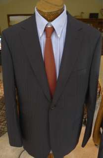 NWOT Hugo Boss Classic Fit Movie Suit 42R w/ Side Vents MSRP $795