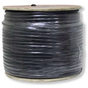 Speaker Cable 12AWG 4 Conductor Black   12 Gauge Patch Cord 12/4 Wire