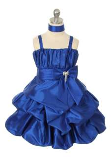 Blue Bubble Wedding, Christmas, Birthday, Party Girl Dress