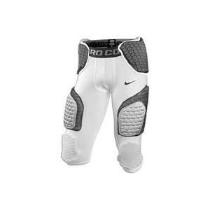 Nike Pro Combat Hyperstrong 3/4 Pant   Mens   White/Black/Grey