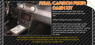 Hummer H2 Real Carbon Fiber Dash Kit Trim