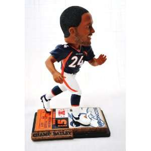 Denver Broncos Official NFL #24 Champ Bailey rare ticket base action