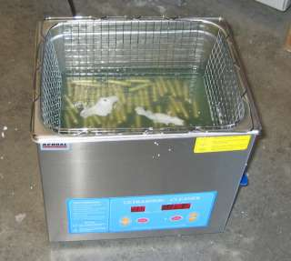 New Commercial Grade 9 Liters HEATED ULTRASONIC CLEANER