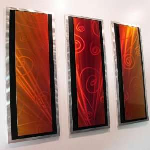 Symphony Modern Abstract Metal Wall Art Painting