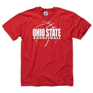 Ohio State Buckeyes Red Primetime Basketball T Shirt