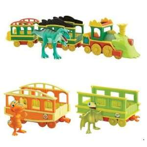 Dinosaur Train 3 Car Train with Sound/Lights Collector