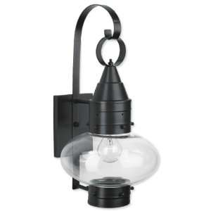 Classic Onion One Light Outdoor Medium Wall Mount Lantern