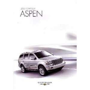 2007 CHRYSLER ASPEN Sales Brochure Literature Book