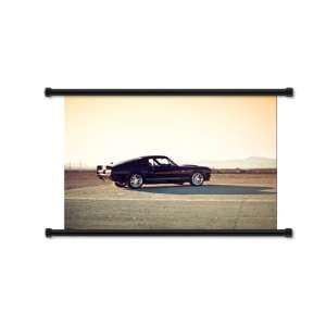 Ford Shelby GT Car Fabric Wall Scroll Poster (32x21