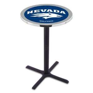 of Nevada Counter Height Pub Table   Cross Legs   NCAA