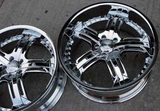 RVM 503 20 CHROME RIMS WHEELS INFINITI G35 G37 STAG
