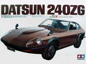 Tamiya Datsun 240ZG model kit 1/12