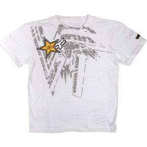 Fox Racing Rockstar Tonic T Shirt   X Large/White