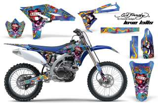 AMR RACING OFF ROAD MX STICKER DECAL KIT YAMAHA YZ 250 F YZF 10 12 ED