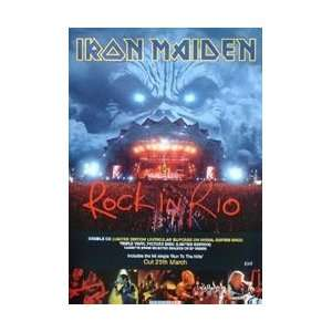 Posters Iron Maiden   Rock In Rio Poster   76x51cm