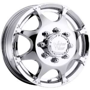 17x6.5 Vision Crazy Eightz Dually Front 8x170 Chrome Wheels Rims Inch