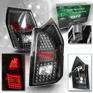 LED Tail Lamp   Clear Lens / Red Reflector   DEPO   SAE DOT Approved