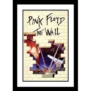 Pink Floyd The Wall 20x26 Framed and Double Matted Movie